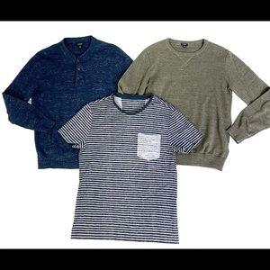 J Crew Sweaters & Banana Republic T Shirt